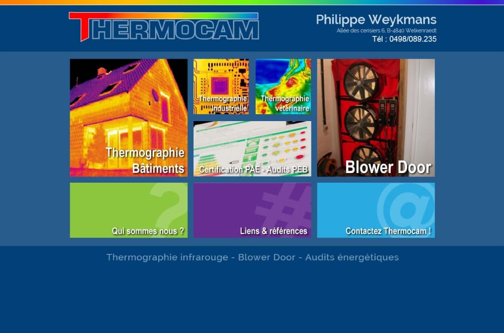 Zoom sur Thermocam.net
